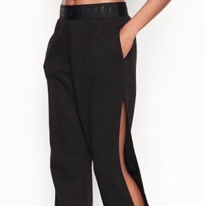 Victoria's Secret Sport Joggers with Side Slit